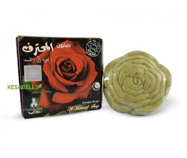 صابون دقة قديمة شكل الوردة