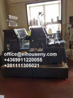 7ماكينة طباعة هايدلبرج جي تي1992