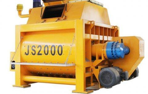 خلاط الخرسانة 120 م³ / سا,خلاط رمح التوأم