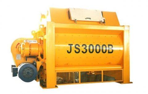 خلاط الخرسانة  180 م³ / سا,خلاط رمح التوأم