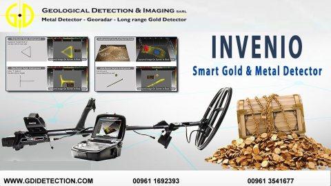 جهاز كشف الذهب  INVENIO شركة جي دي اي في بيروت 009613541677