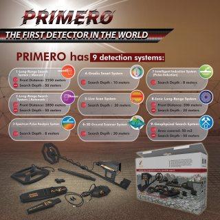 The best gold and metal detector - Primero Ajax | best gold detector