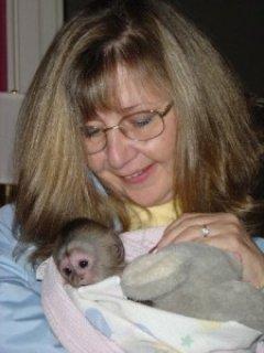Awesome Female Pet Monkey