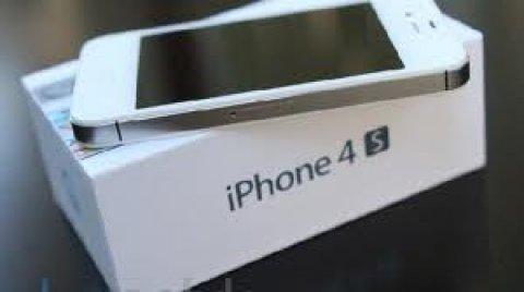 ابل اي فون 4S رباعية 3G HSDPA GPS رقم الهاتف ( SIM الحرة )