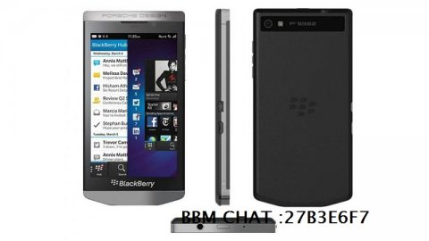 NEW BLACKBERRY PORSCHE DESIGN P'9982 LUXURY SMARTPHONE