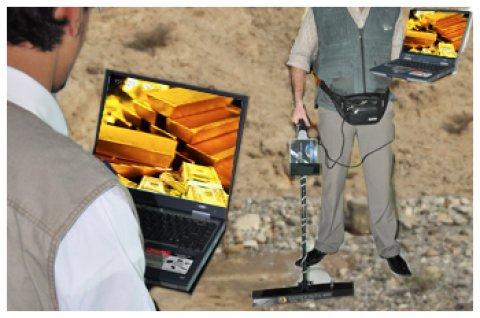 جهاز الكشف عن الذهب التصويري الأول في العالم FTG USA