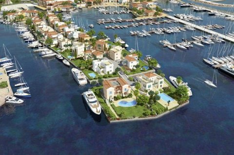 For sale luxury villas in New Limassol Marina, Cyprus