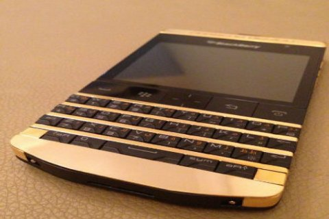 24CT Gold Blackberry Porsche P9981 (BBM: 2A27DD70)