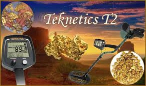 Teknetics T2 جهاز كشف الذهب تحت الأرض