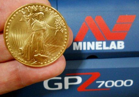 احدث جهاز لكشف الذهب تحت الارض GPZ 7000 / 2015
