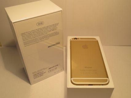 للبيع آبل iPhone 6 16 جيجابايت الذهب بسعر 300 صفقة مع ضمان