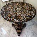 Ottoman black marble table / طاولة عثمانية رخام اسود