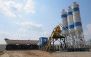 محطة خلط الخرسانة 25 م³ / سا