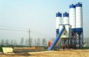 محطة خلط الخرسانة 90 م³ / سا