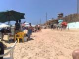 أرض في منطقة الجية على شاطىء البحر موقع متميز للبيع او للإستثمار